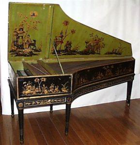 Cravo Taskin de 1782, exemplar do Museu da Música de Portugal