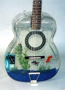 Violão-aquário